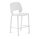 Domitalia Traffic-Sgb Stacking Chair in White TRAFF.R.B0F.BI.PBI