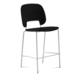 Domitalia Traffic-Sgb Stacking Chair in Black and White TRAFF.R.B0F.BI.PNE