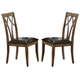 ECI Furniture Dusty Roads Double X Back SIde Chairs in Ashburn 3073-91-S2 (Set of 2)