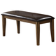ECI Furniture Dusty Roads Upholstered Backless Bench in Ashburn 3073-91-UPB