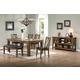 ECI Furniture Dusty Roads 6-Piece Rectangular Dining Set in Ashburn