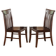 ECI Furniture Gettysburg Side Chair in Dark Distressed 1475-05-S (Set of 2)