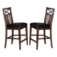 ECI Furniture Augusta Counter Stool in Rustic Mahogany 2240-00-BS (Set of 2)