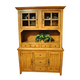 ECI Furniture China Base and Hutch in Rustic Oak 9000-04-CBCH
