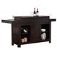 ECI Furniture Hibatchi Dining Bar in Jacobean 1480-00-IBT-IB