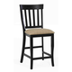 ECI Furniture Trophy Lane Stool in Black 3015-10-BS (Set of 2)