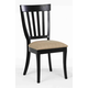 ECI Furniture Trophy Lane Side Chair in Black 3015-10-S (Set of 2)