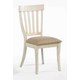 ECI Furniture Trophy Lane Side Chair in Antique White 3015-20-S (Set of 2)