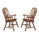 ECI Furniture Yorkshire Arm Chair in Burnished Oak 7000-03-A