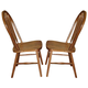 ECI Furniture Fletcher Side Chair in Burnished Oak 7015-03-S (Set of 2)