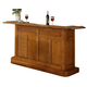 ECI Furniture Nova Bar in Burnished Oak 1101-03-BT