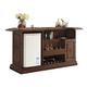 ECI Furniture Ashton Bar in Distressed Walnut 1292-35-BBT