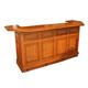 ECI Furniture Belvedere Bar in Burnished Oak 1192-03-BBT