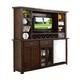 ECI Furniture Gettysburg Bar with Entertainment Hutch in Dark Distressed 1475-05-EBB-EH