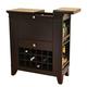 ECI Furniture Gianna Spirit Cabinet in Espresso 2037-99-WB