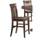 ECI Furniture Gettysburg Counter Stool in Dark Distressed 1475-05-CS (Set of 2)