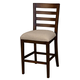 A-America Westlake Ladderback Counter Chair in Cherry Brown (Set of 2) WSLCB345K