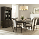 Klaussner Versailles 7-Piece Leg Dining Set in Normandie
