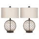 Emma Mason Signature Hudson Yards Glass Table Lamp (Set of 2) E786-L