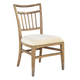 Hekman Avery Park Wood Slat Side Chair in Light Brown (Set of 2)