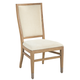 Hekman Avery Park Upholstered Side Chair in Light Brown (Set of 2)