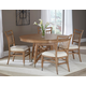 Hekman Avery Park 5-Piece Round Dining Set in Light Brown