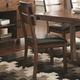Coaster Avalon Side Chair in Dark Amber and Coffee Bean (Set of 2) 105012