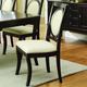 Coaster Crest Hill Side Chair in Dark Cherry Brown (Set of 2) 105672