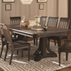 Coaster Carlsbad Table in Dark Brown 105731