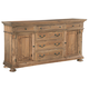 Hekman Wellington Hall Dining Buffet in Burnished Brown 2-3326