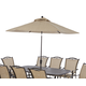 Klaussner Outdoor Verona 11' Umbrella W6002 UMB11