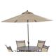 Klaussner Outdoor Cayside 11' Umbrella W6001 UMB11