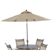 Klaussner Outdoor Cayside 9' Umbrella  W6001 UMB9