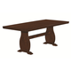 Coaster Urbana/Campbell  Dining Table in Vintage Cinnamon 105341