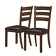 Coaster Urbana/Campbell Side Chair in Vintage Cinnamon (Set of 2) 105342