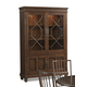 Klaussner Blue Ridge Curio in Cherry 426-892