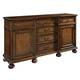 Hekman Vintage European Dining Sideboard in Vintage Brown 2-3227