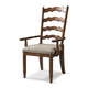 Klaussner Southern Pines Ladderback Arm Chair in Pine Ridge 436-905 (Set of 2)