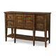 Klaussner Southern Pines 4 Drawer Sideboard in Pine Ridge 436-891