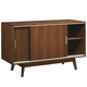 Coaster Malone Mid-century Modern Server in Dark Walnut 105365