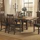 Coaster Padima Dining Table in Rustic Cognac 105701