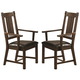 Coaster Padima Arm Chair in Rustic Cognac (Set of 2) 105703