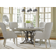 Lexington Oyster Bay 5-Piece Calerton Round Dining Set