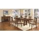 Coaster Pembrook 7-Piece Dining Room Set in Walnut