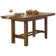 Coaster Salerno Counter Height Table in Weathered Wood 105568