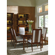 Tommy Bahama Home Island Fusion 7-Piece Marquesa Rectangular Dining Room Set in Dark Walnut