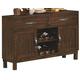 Coaster Urbana/Campbell Server in Vintage Cinnamon 105345