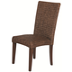 Coaster Westbrook High Back Woven Side Chair in Dark brown (Set of 2) 101094