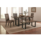 Coaster Westbrook 5-Piece Dining Room Set in Two Tone