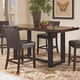 Coaster Westbrook Counter Height Table in Two Tone 121648